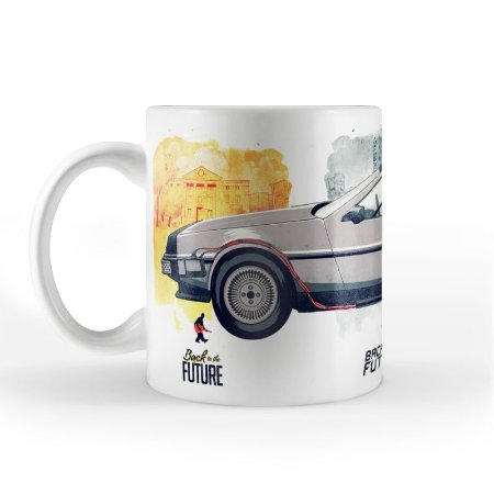 Caneca ShopB Back to the Future