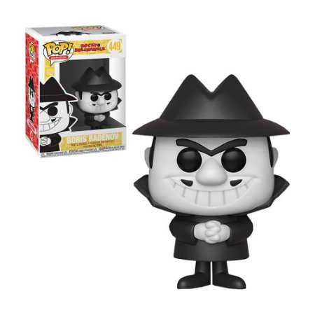 Boneco Boris Badenov 449 Rocky and Bullwinkle - Funko Pop!