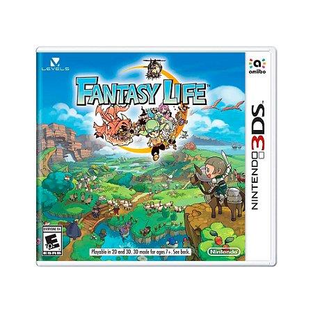 Jogo Fantasy Life - 3DS