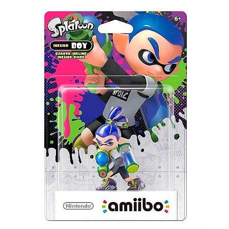 Nintendo Amiibo: Inkling Boy - Splatoon - Wii U e New Nintendo 3DS