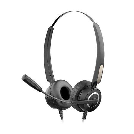 Headset Call Center HP DHE-8000 com fio - PC