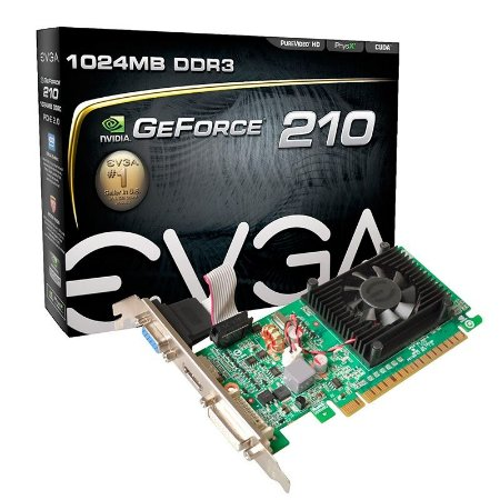 Placa de Video Nvidia Geforce GT210 1GB
