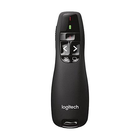 Apresentador Logitech R400 com Laser Point sem fio