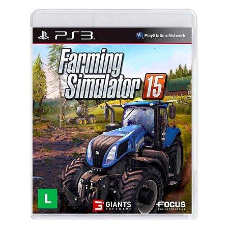 Jogo Farming Simulator 15 - PS3