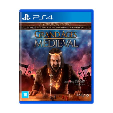 Jogo Grand Ages: Medieval (Limited Edition) - PS4