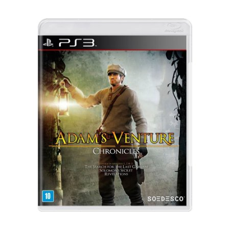 Jogo Adam's Venture: Chronicles - PS3