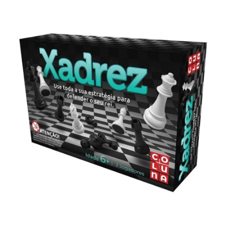 Jogo de Tabuleiro Coluna Xadrez