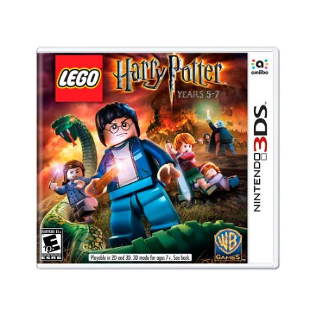 Jogo LEGO Harry Potter: Years 5-7 - 3DS