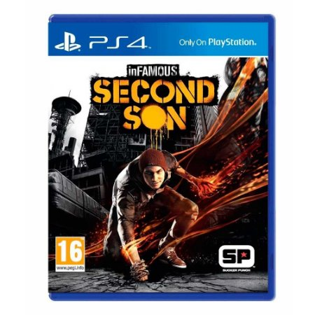 Jogo inFAMOUS Second Son - PS4