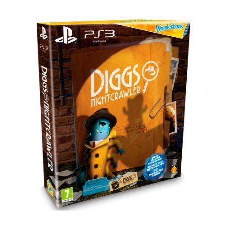 Jogo Wonderbook: Diggs Nitghtcrawler - PS3