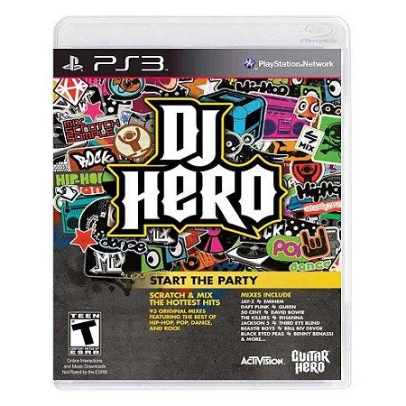 Jogo DJ Hero - PS3