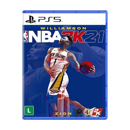 Jogo NBA 2K21 - PS5
