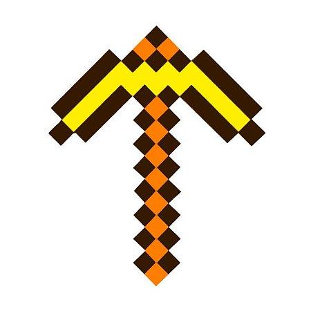 Picareta de ouro ZR Toys Minecraft