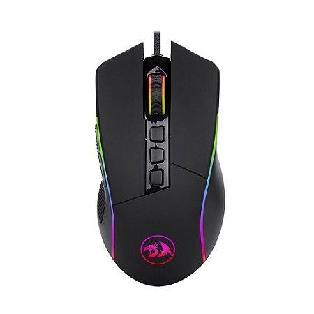 Mouse Gamer Redragon Lonewolf2 M721-PRO RGB 32000 DPI com fio