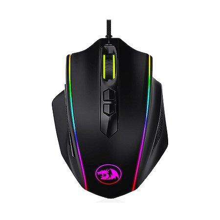 Mouse Gamer Redragon Vampire M720-RGB RGB 10000 DPI com fio