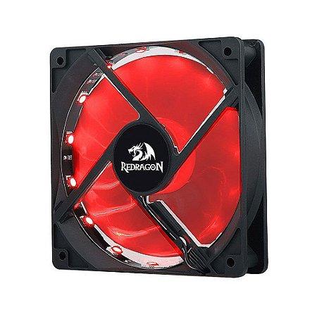 Fan Redragon GC-F006x3 RGB 1200 RPM - PC