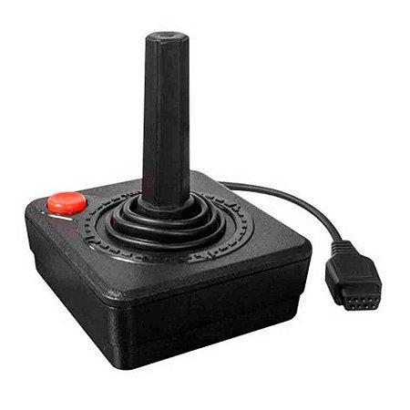 Controle Hyperkin Preto Atari Primeira Geração com fio - Atari 2600