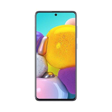 """Smartphone Samsung Galaxy A71 128GB 64MP Tela 6,7"""" Cinza"""
