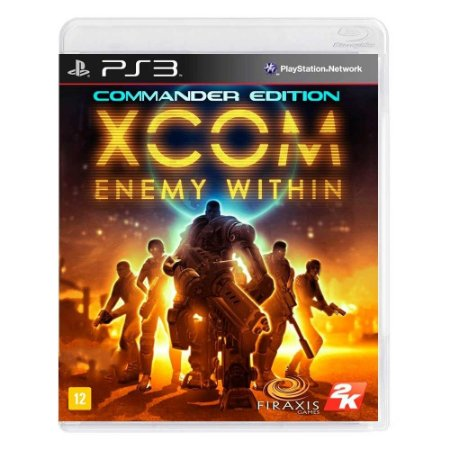 Jogo XCOM: Enemy Within (Commander Edition) - PS3