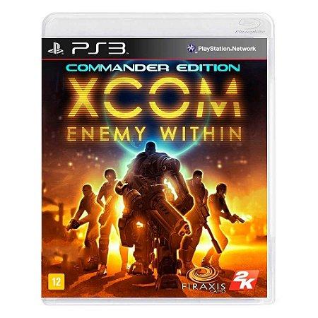 Jogo XCOM: Enemy Within Commander Edition - PS3