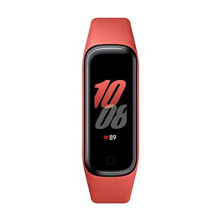 Smartband Samsung Galaxy Fit2 Vermelho