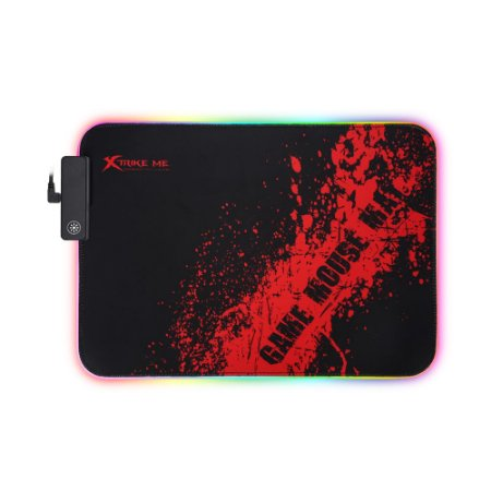 Mousepad Gamer Xtrike Me MP-602 RGB 350x250x3 mm