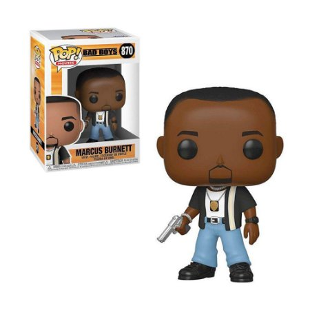 Boneco Marcus Burnett 870 Bad Boys - Funko Pop