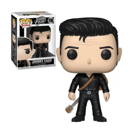 Boneco Johnny Cash 116 Johnny Cash - Funko Pop!