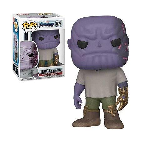 Boneco Thanos in The Garden 579 Marvel Avengers - Funko Pop!