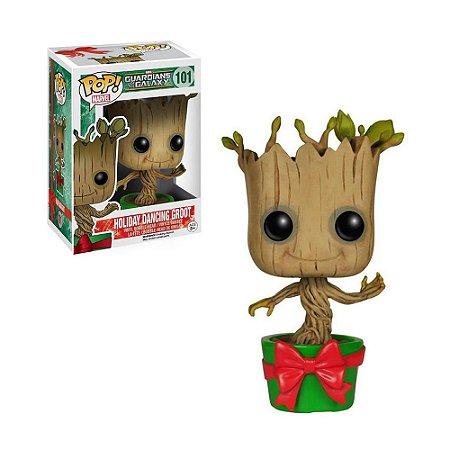 Boneco Holiday Dancing Groot 101 Guardian of the Galaxy - Funko Pop!
