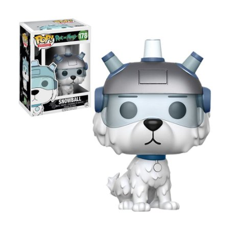 Boneco Snowball 178 Rick and Morty - Funko Pop!