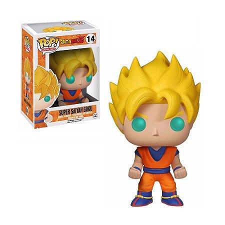 Boneco Super Saiyan Goku 14 Dragon Ball Z - Funko Pop!