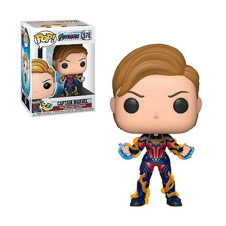 Boneco Captain Marvel 576 Avengers Endgame - Funko Pop!