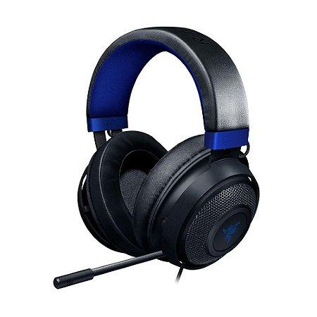 Headset Gamer Razer Kraken for Console 7.1 Blue com fio - Multiplataforma