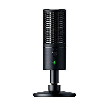 Microfone Condensador Streaming USB Razer Seiren X - PC