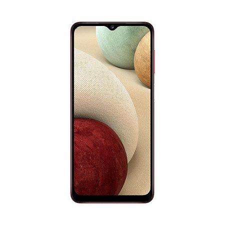 "Smartphone Samsung Galaxy A12 64GB 48MP Tela 6,5"" Vermelho"