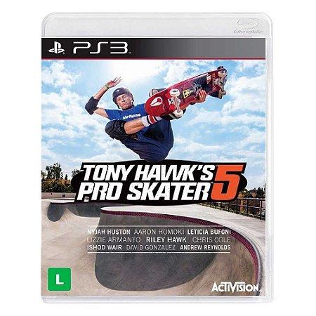 Jogo Tony Hawks Pro Skater 5 - PS3