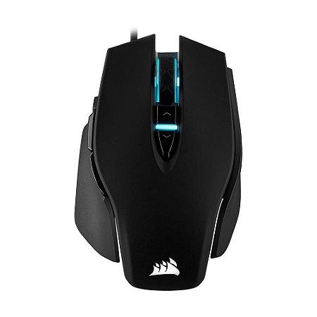 Mouse Gamer Corsair M65 RGB Elite Black 18000 DPI com fio