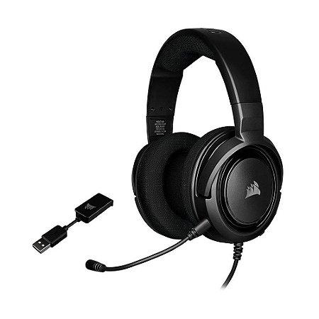 Headset Gamer Corsair HS45 7.1 com fio - Multiplataforma