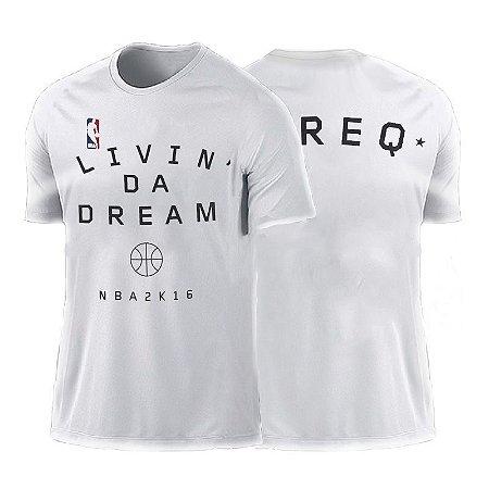 Camiseta NBA 2K16 Branca - Modelo 2