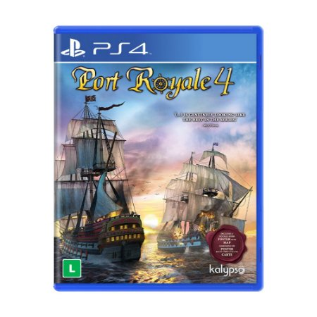 Jogo Port Royale 4 - PS4