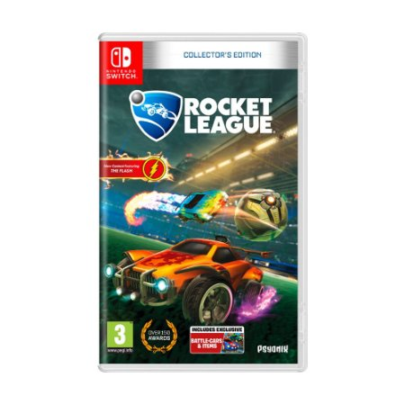 Jogo Rocket League (Collector's Edition) - Switch