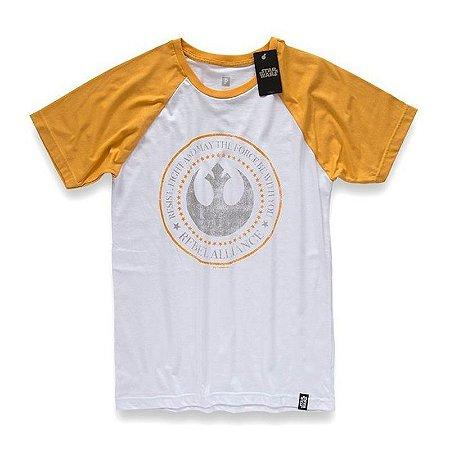 Camiseta Studio Geek Aliança Rebelde Logo Star Wars - Modelo 13