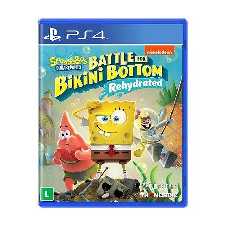 Jogo Bob Esponja - Batalha Pela Fenda do Biquini - PS4