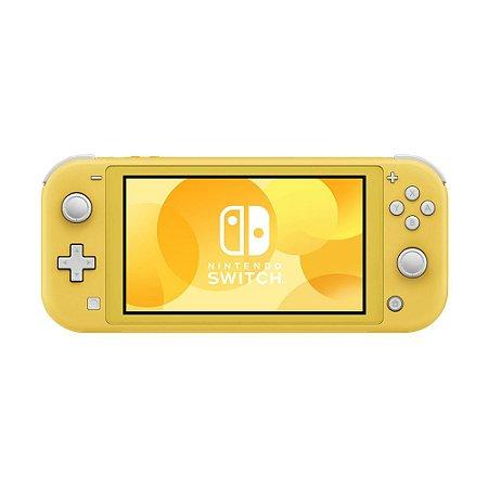 Console Nintendo Switch Lite Amarelo - Nintendo