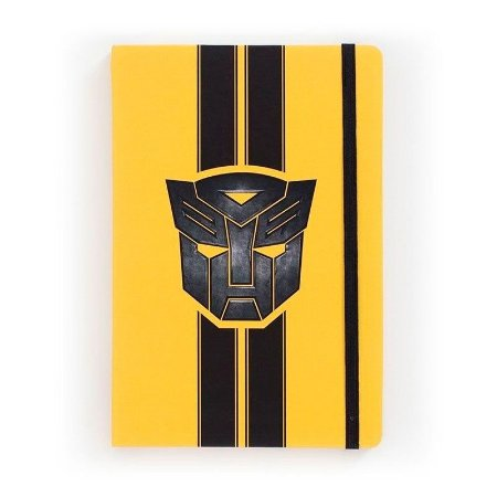 Caderno de Notas Transformers Logo - Studiogeek