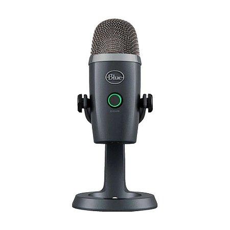 Microfone Condensador USB Blue Yeti Nano Cinza - PC