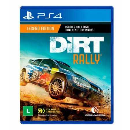 Jogo Dirt Rally (Legend Edition) - PS4