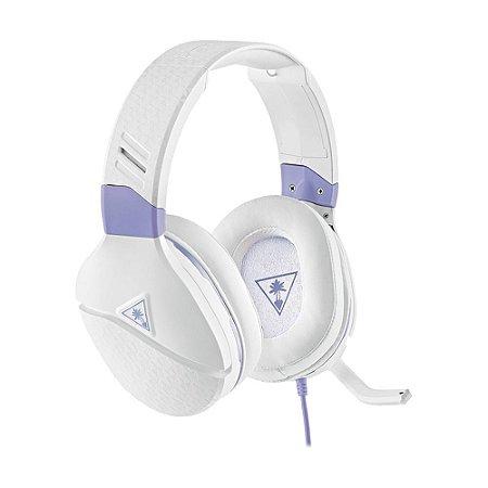 Headset Gamer Turtle Beach Recon Spark Branco com fio - Multiplataforma