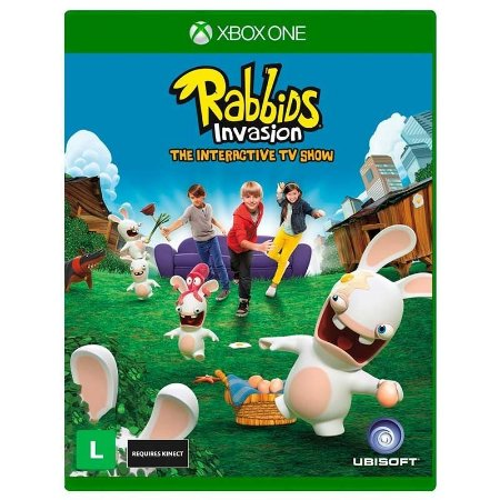 Jogo Rabbids Invasion: The Interactive TV Show - Xbox One
